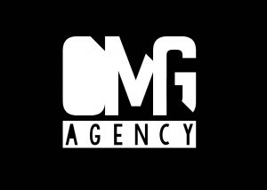 OMG AGENCY - LOGO white